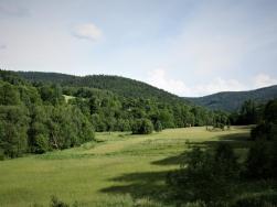 Do przejścia Granicznego Na Przełęczy Płoszczyna